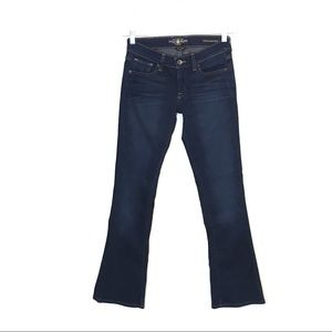 Lucky Charlie Baby Boot Ankle Dark Wash Jeans 2 26